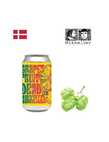MIKKELLER 18th str. BREWERY GRAPEFRUIT DEAD 0.355lt ΚΟΥΤΙ