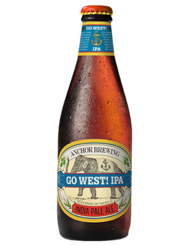 ANCHOR GO WEST IPA 0.355lt