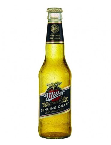 MILLER GENUINE DRAFT 0.33lt