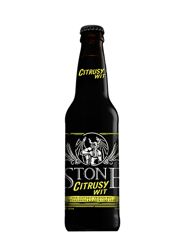 STONE CITRUSY WIT 0.33lt