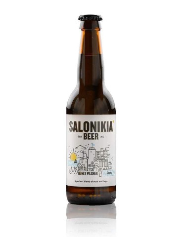 SALONIKIA HONEY PILSNER 0.33lt