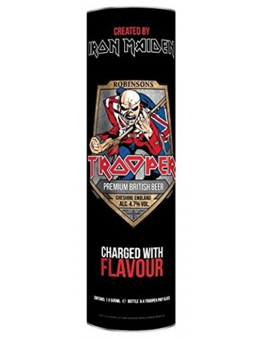 IRON MAIDEN TROOPER CYLINDER + ΠΟΤΗΡΙ 0.50lt