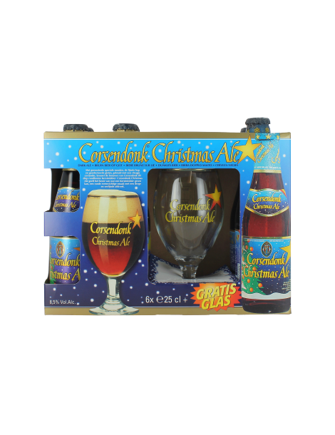 CORSENDONK CHRISTMAS ALE X6 GIFT PACK