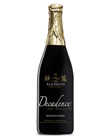 ALE SMITH DECADENCE 0.75lt