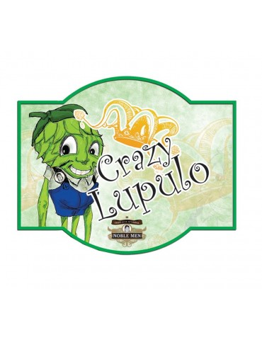 NOBLE MEN CRAZY LUPULO 0.33lt
