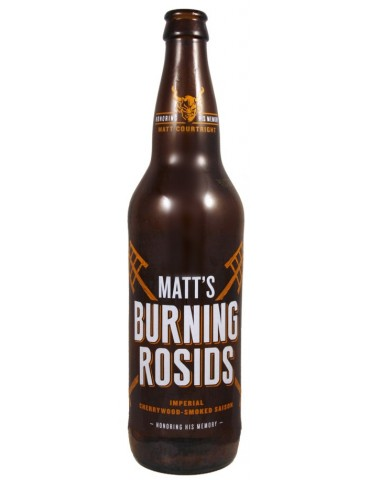 STONE MATT'S BURNING ROSIDS 0.65lt