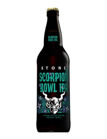 STONE SCORPION BOWL IPA 0.65lt