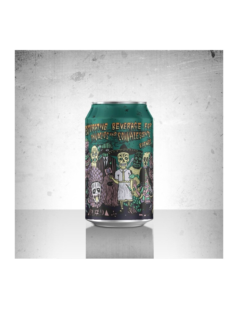 BREWDOG RESTORATIVE BEVERAGE FOR INVALIDS AND CONVALESCENTS 0.33lt ΚΟΥΤΙ