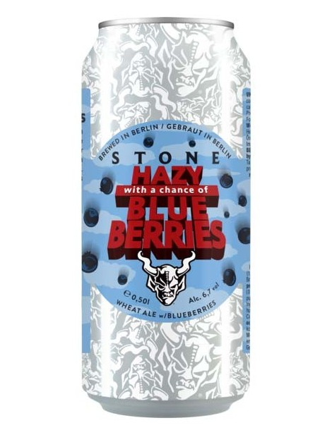 STONE HAZY WITH A CHANCE OF BLUE BERRIES 0.50lt (ΚΟΥΤΙ)
