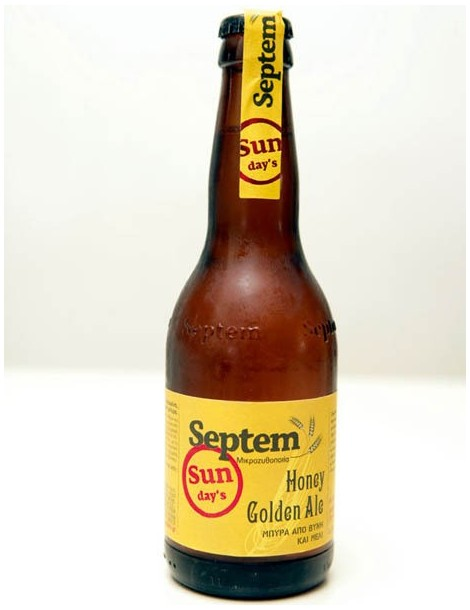 SEPTEM SUNDAY'S HONEY GOLDEN ALE 0.33lt