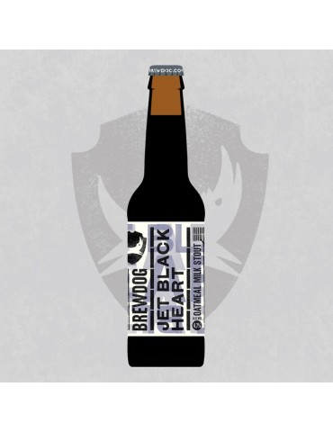 BREWDOG JET BLACK HEART 0.33lt