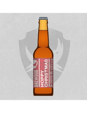 BREWDOG HOPPY CHRISTMAS IPA 0.33lt