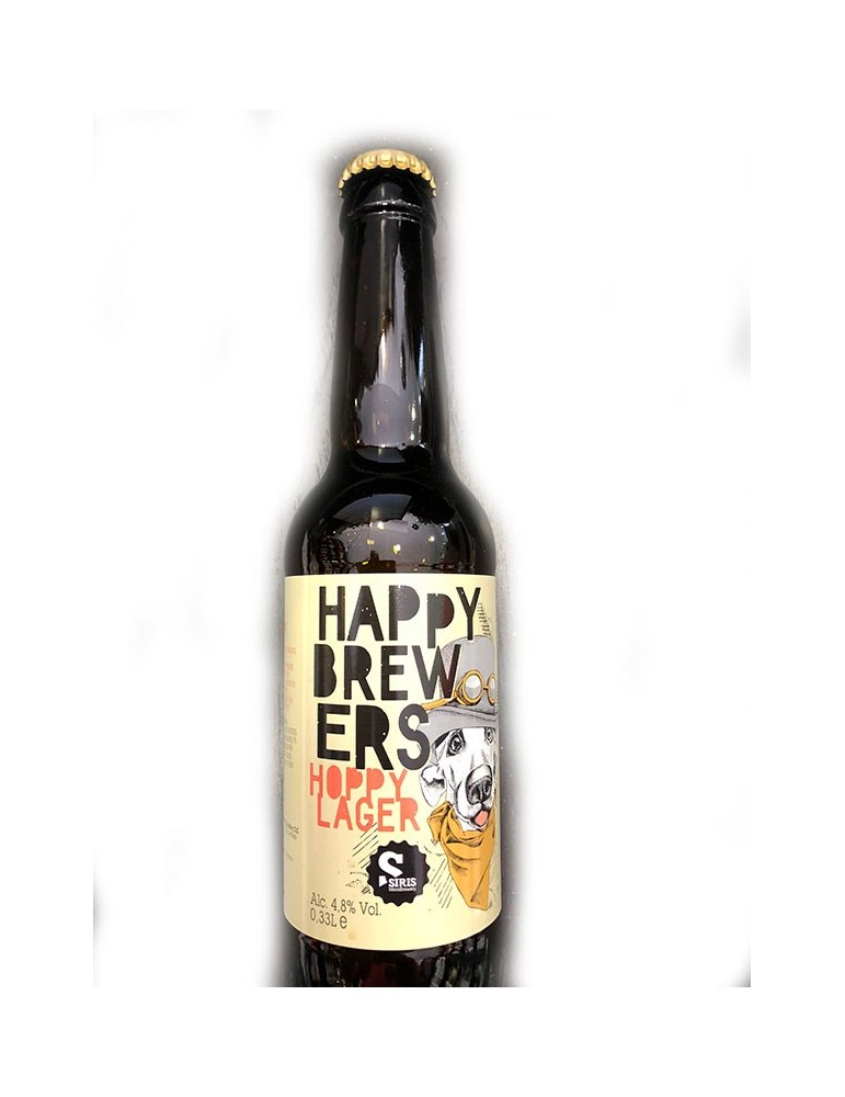 HAPPY BREWERS HOPY LAGER 0.33lt