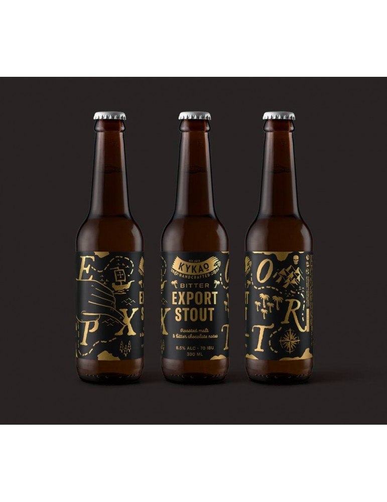 ΚΥΚΑΩ EXPORT STOUT BITTER 0.33lt