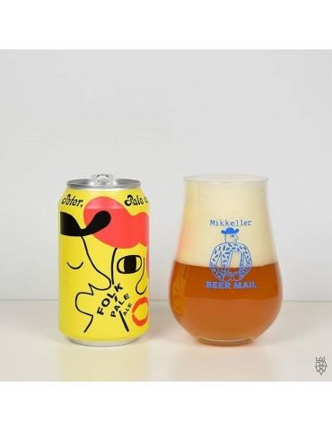 MIKKELLER PALE AND MARY FOLK PALE ALE 0.33lt