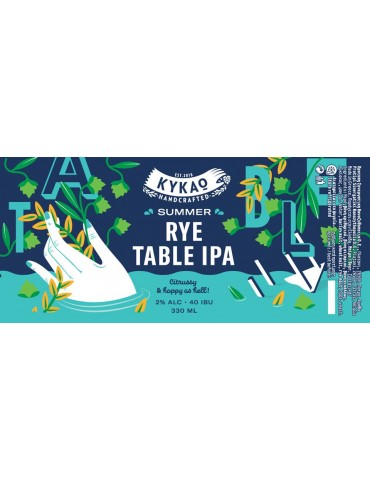 ΚΥΚΑΩ SUMMER RYE TABLE IPA...