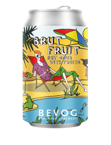 BEVOG WHO CARES BRUT FRUIT...