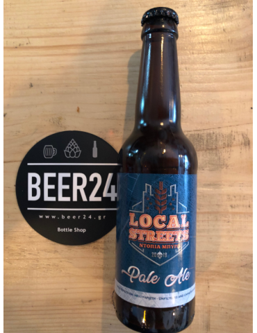 LOCAL STREETS PALE ALE 0.33lt