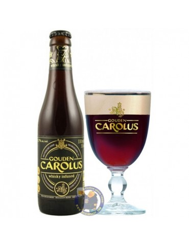 GOUDEN CAROLUS WHISKEY INFUSED 0.33lt