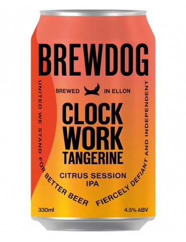 BREWDOG CLOCKWORD TANGERINE...