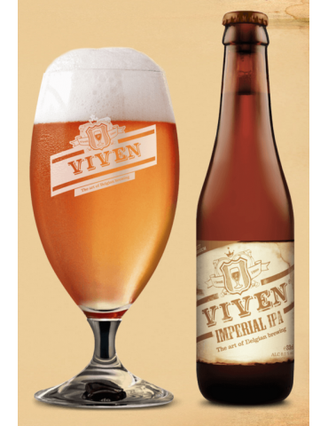 VIVEN IMPERIAL IPA 0.33lt